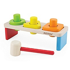 Pintoy - Sort 'n' pound hammer bench