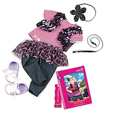 Our Generation - Dolls Layla - read and play set