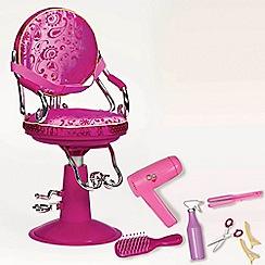 Our Generation - Dolls sitting pretty salon chair