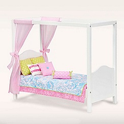 Our Generation - Dolls my sweet canopy bed