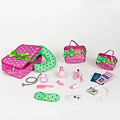Our Generation - Dolls luggage and travel set