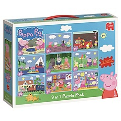 Peppa Pig - 9in1 Puzzle Pack