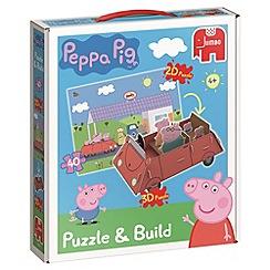 Peppa Pig - Puzzle & Build 2D-3D