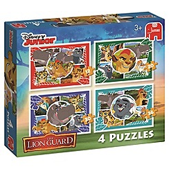 Disney The Lion Guard - 4in1 Puzzle