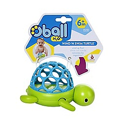 Oball - Bath grab n splash turtle