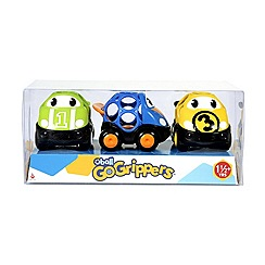 Oball - Go Grippers Vehicles Race car 3 pack