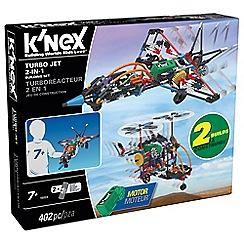 K'Nex - Turbo  Jet 2 in 1 Building Set - 16004