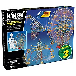K'Nex - Classic 3-in-1 Amusement Park theme set - 17035