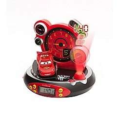 Disney Cars - Projector Radio Alarm Clock