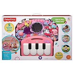 Fisher-Price - Kick and Play Piano Gym - Pink