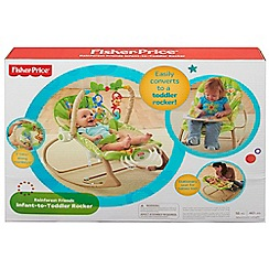 Fisher-Price - Rainforest Friends Infant-to-Toddler Rocker