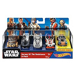 Hot Wheels - Heroes of the Resistance 5 Pack