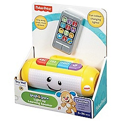 Fisher-Price - Laugh & Learn Light Up Learning Speaker