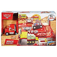 Disney Cars - Wheel Action Drivers Mack Playset
