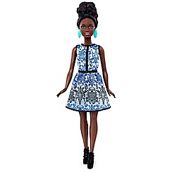 Barbie - Fashionistas Doll 25 Blue Brocade