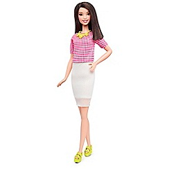 Barbie - Fashionistas Doll 30 White and Pink Pizzazz