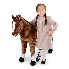 Melissa & Doug - Horse plush toy - 12105