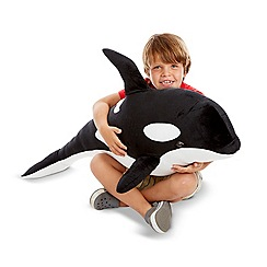 Melissa & Doug - Orca plush toy - 18802