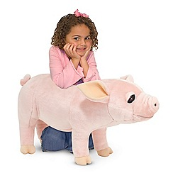 Melissa & Doug - Pig plush toy - 18833