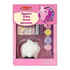 Melissa & Doug - Design Your Own Piggy Bank - 18862