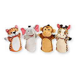 Melissa & Doug - Zoo Friends Hand Puppets - 19081