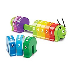 Melissa & Doug - Wooden Counting Caterpillar - 19274