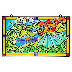 Melissa & Doug - Stained Glass Made Easy - Dragon - 19289