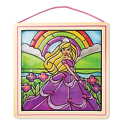 Melissa & Doug - Stained Glass Made Easy - Princess - 19435