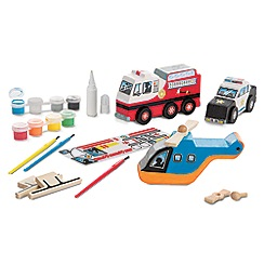 Melissa & Doug - Rescue Vehicles Set - 19528