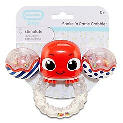 Little Tikes - Shake 'n Rattle Crabbie Ring Red