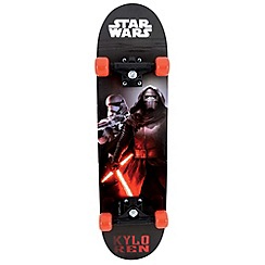 Star Wars - Black and Red Skateboard