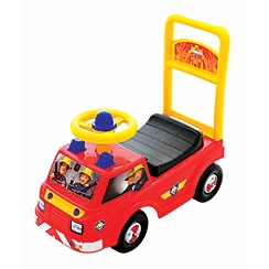 Fireman Sam - Yellow and Red First  Ride On