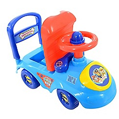 Paw Patrol - Blue and Red Ride On