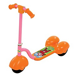 Teletubbies - Orange and Pink Scooter