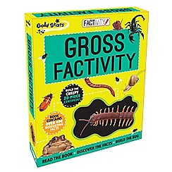 Parragon - Gross factivity kit book