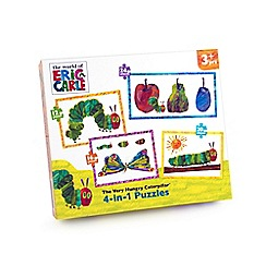 The Very Hungry Caterpillar - 4 in 1 puzzles