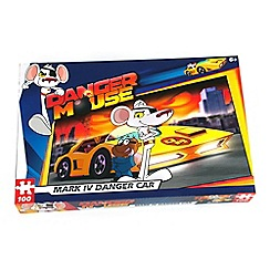 Danger Mouse - Danger car 100 piece puzzle