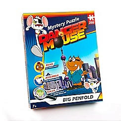 Danger Mouse - Dangermouse mystery puzzle 250 piece puzzle
