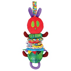 The Very Hungry Caterpillar - Developmental jiggle caterpillar
