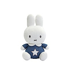 Miffy - Baby denim blue soft toy