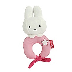 Miffy - Baby pink rattle