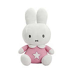 Miffy - Baby pink soft toy