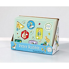 Beatrix Potter - Peter Rabbit wooden peg puzzle
