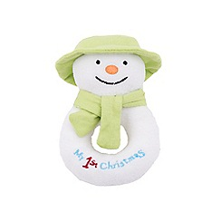 The Snowman - My first Christmas jingle bell ring rattle