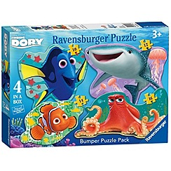 Disney PIXAR Finding Dory - 4 Shaped Jigsaw Puzzles