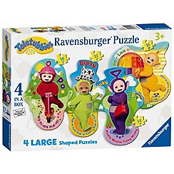 Teletubbies - 4 Shaped Jigsaw Puzzles