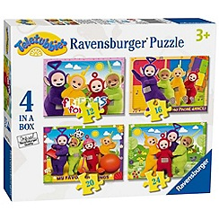 Teletubbies - 4 in a box Jigsaw Puzzles