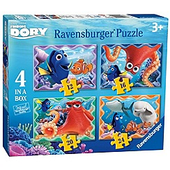 Disney PIXAR Finding Dory - 4 in a Box Jigsaw Puzzles