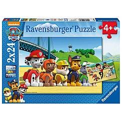 Paw Patrol - 2 x 24 piece Jigsaw Puzzles
