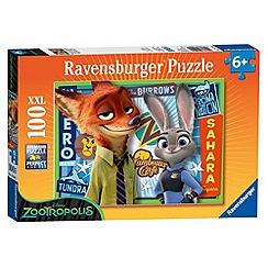 Disney - Zootropolis XXL 100 piece Jigsaw Puzzle